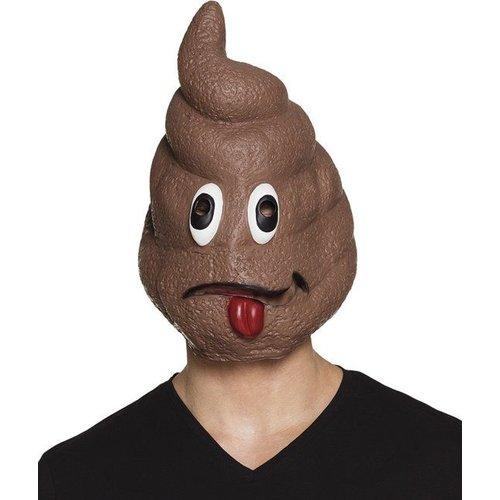 Witbaard Witbaard - Masker - Shithead - Emoticon drol