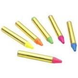Schminkkrijtjes - Fluor neon - 6dlg.