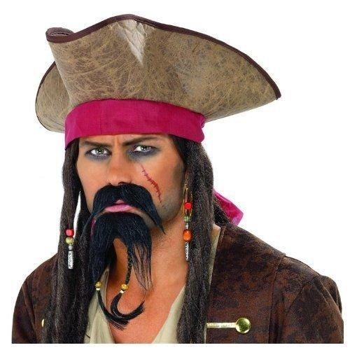 Smiffys Baard & snor - Piraat