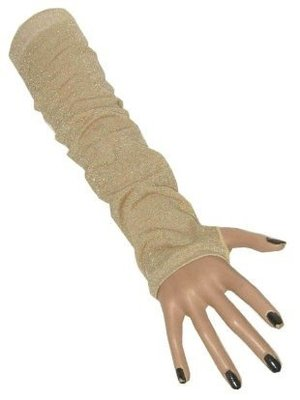 PartyXplosion Armwarmers - Glitter - Goud