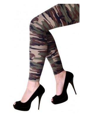PartyXplosion Legging - Camouflage - Volwassenen