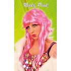 PartyXplosion PartyXplosion - Pruik - Nicky - Roze