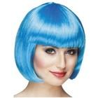 PartyXplosion PartyXplosion - Pruik - Bobline - Icy blue
