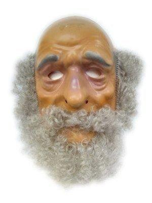 PartyXplosion Masker - Abraham - Met grijs haar