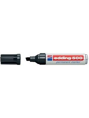 Edding Edding - Permanent marker - 500 - Zwart - 2 tot 7 mm
