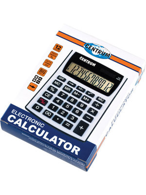 Centrum Rekenmachine - Calculator - 12 cijferig