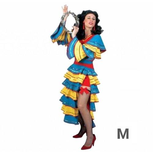 Funny Fashion Funny Fashion - Kostuum - Jurk - Spaans - Juanita - M