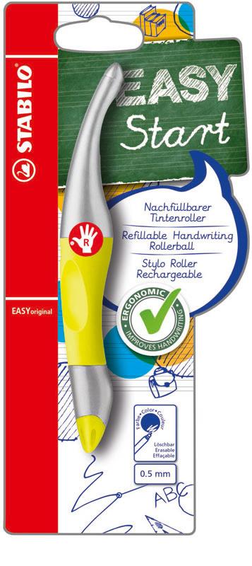 Pen - Voor Rechtshandige - Stabilo - Geel - in Schrijfwaren