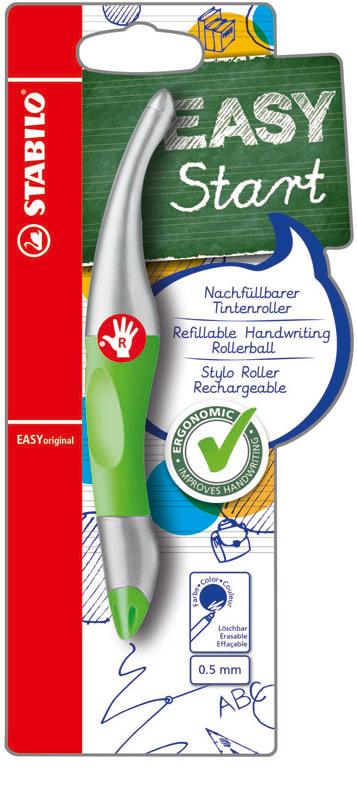 Pen - Voor rechtshandige - Stabilo - Groen - in Schrijfwaren
