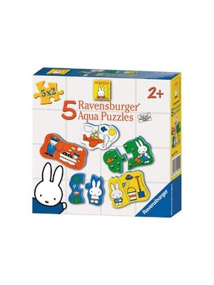Ravensburger Puzzel - Badpuzzel - Nijntje - 5x2st