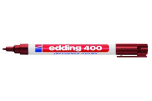 Stift - Permanent marker - 400 - Bruin - in Schrijfwaren