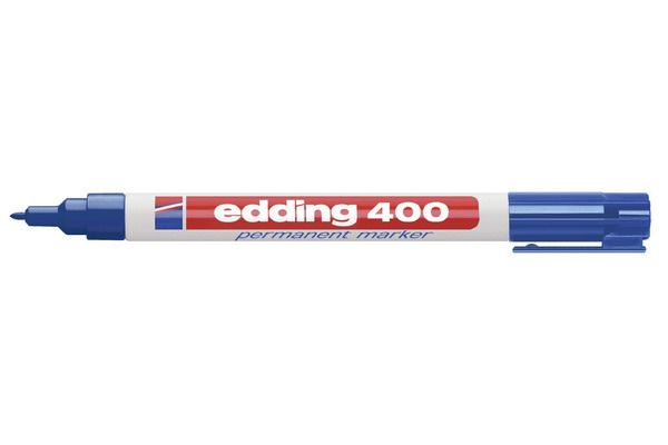Stift - Permanent marker - 400 - Donkerblauw - in Schrijfwaren