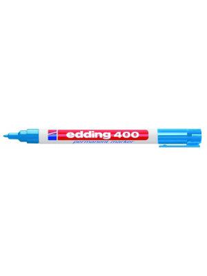 Edding Edding - Permanent marker - 400 - Lichtblauw