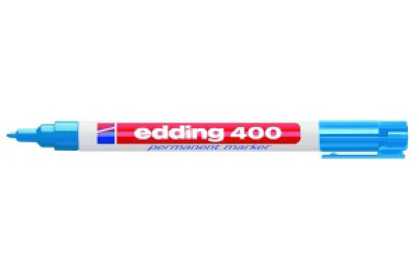 Stift - Permanent marker - 400 - Lichtblauw - in Schrijfwaren