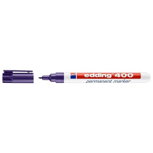 Edding Stift - Permanent marker - 400 - Paars