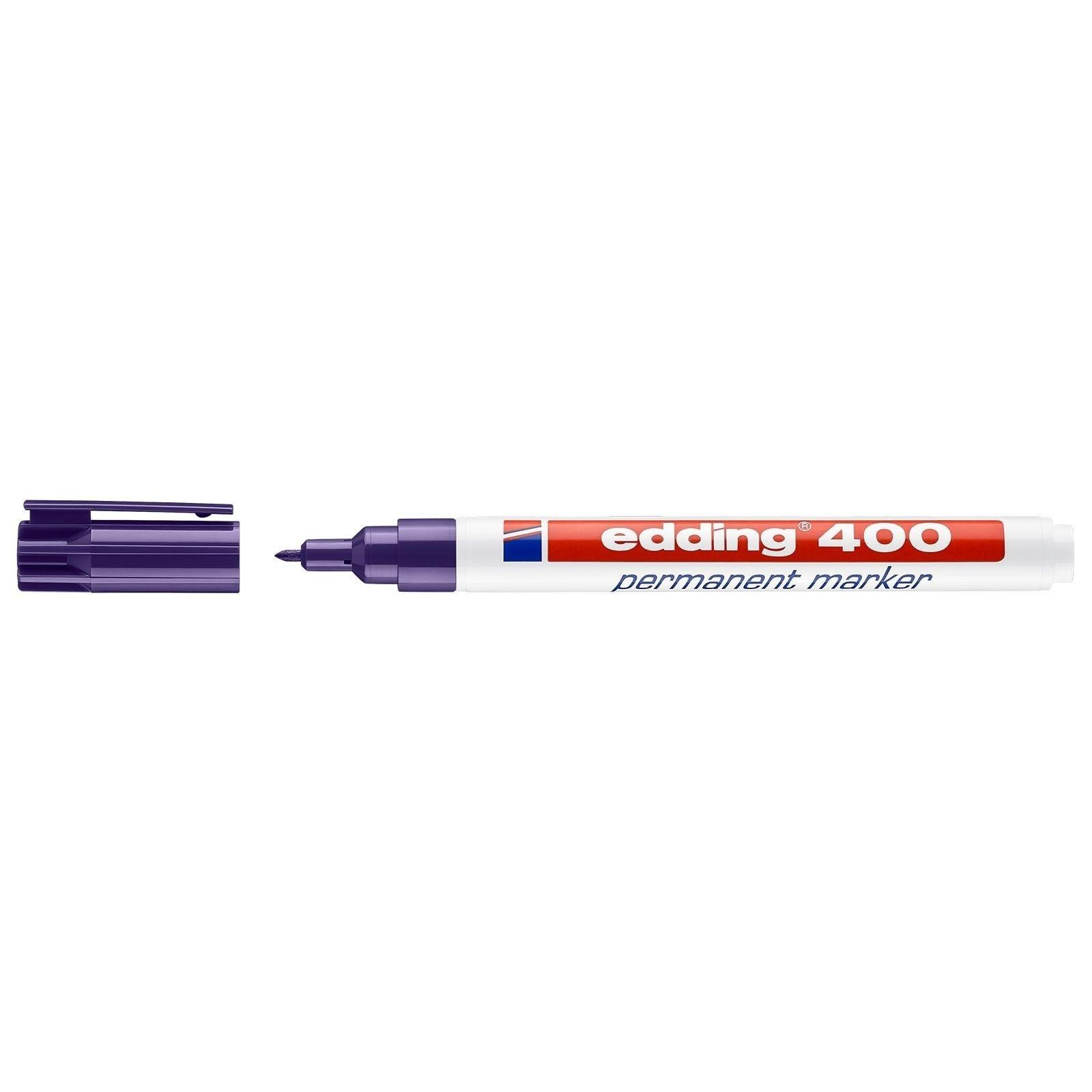 Stift - Permanent marker - 400 - Paars - in Schrijfwaren