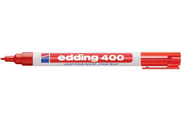 Stift - Permanent marker - 400 - Rood - in Schrijfwaren