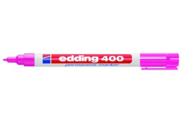 Stift - Permanent marker - 400 - Roze - in Schrijfwaren