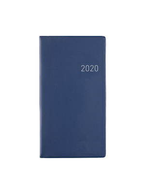 1234feest Clipper - Agenda - 2020 - Euroselect - Zakagenda - Donkerblauw