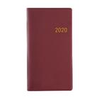 Clipper Clipper - Agenda - 2020 - Euroselect - Zakagenda - Donkerrood