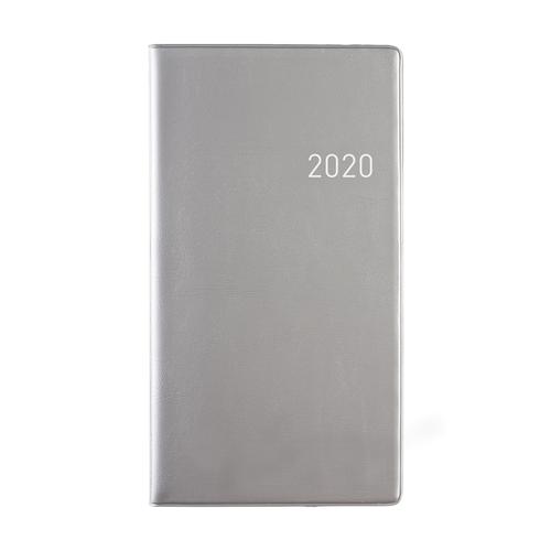 1234feest Clipper - Agenda - 2020 - Euroselect - Zakagenda - Zilvergrijs