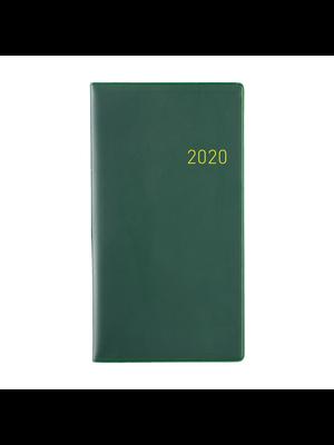1234feest Clipper - Agenda - 2020 - Euroselect - Zakagenda - Donkergroen