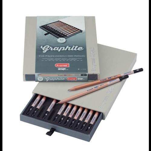 Bruynzeel Bruynzeel - Graphite Box - 12 Grafiet potloden