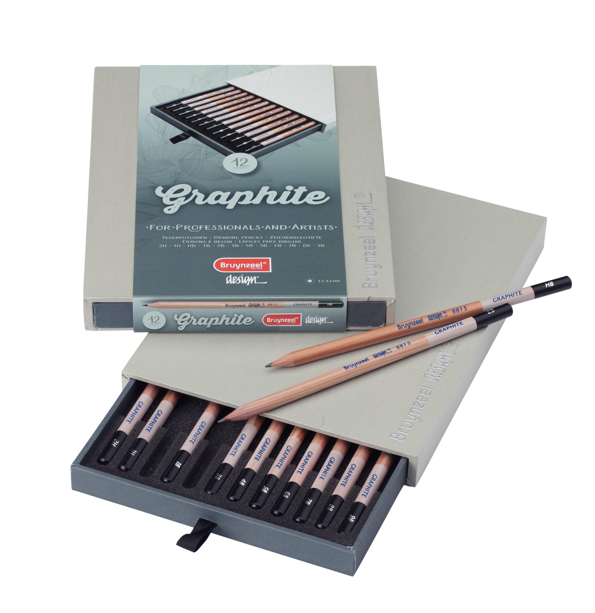 Graphite Box - 12 Grafiet potloden