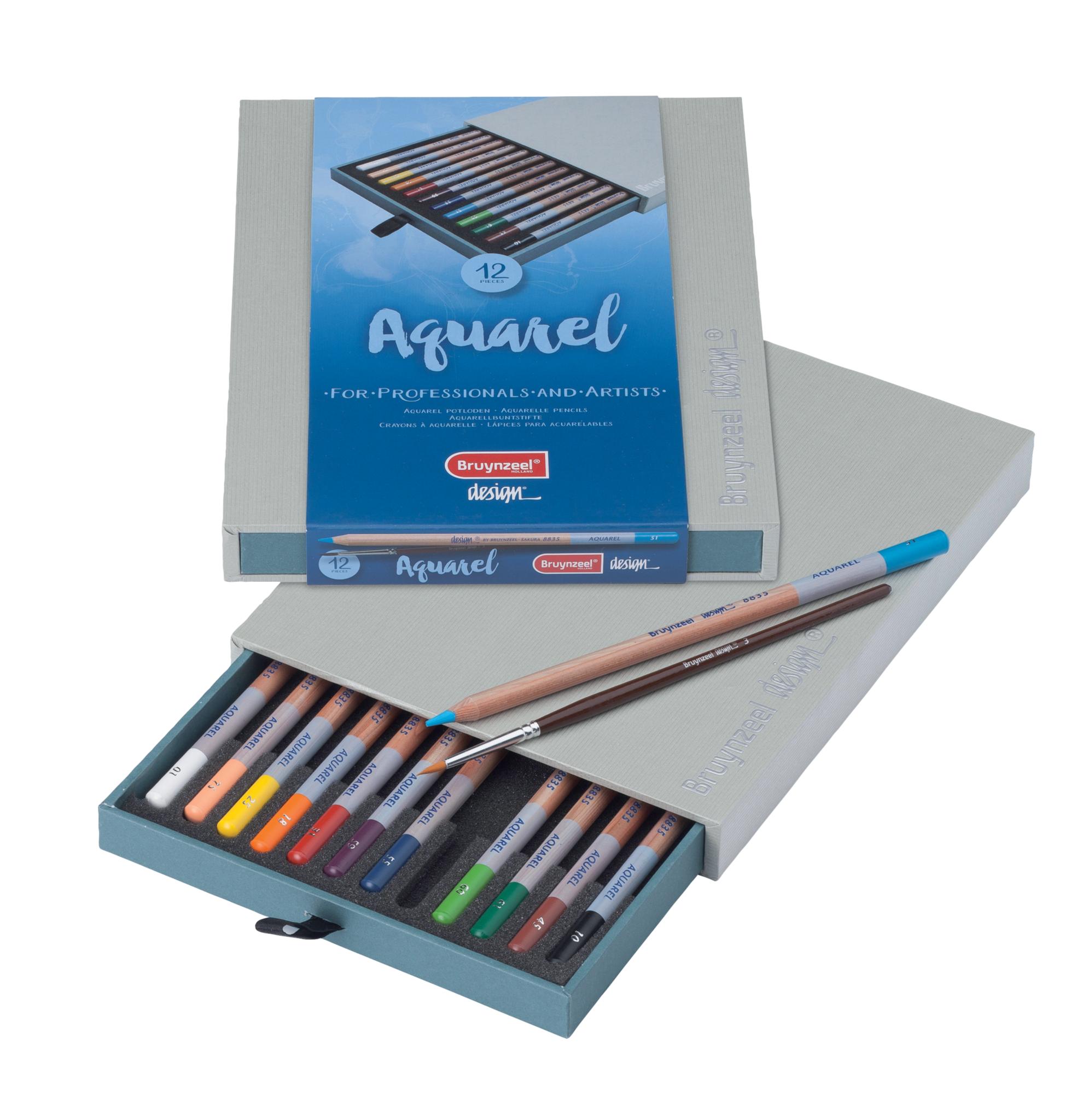 Aquarel Box - 12 Potloden
