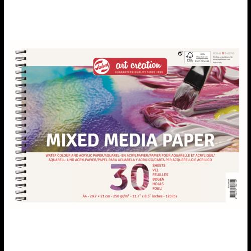 Talens Talens - Art Creation - Mix Media Papier A4 - 300g - 30 vellen - FSC-MIX