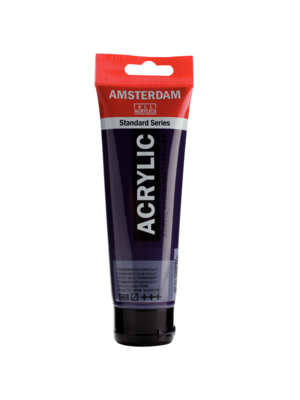 Talens Acrylverf - Permanent blauw violet - Amsterdam - 120ml