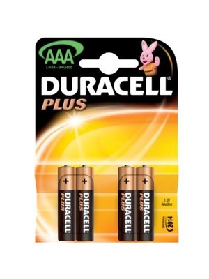 Duracell - Batterijen - Potlood cell - AAA - LR3 - 4st.