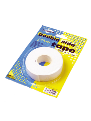 Centrum Centrum - Dubbelzijdig tape - Foam - 19mm x 1,5m