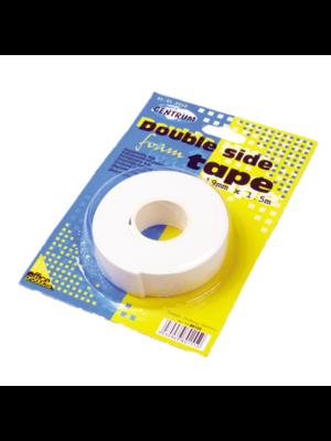 Centrum Tape - Dubbelzijdig - Foam - 19mm x 1,5m
