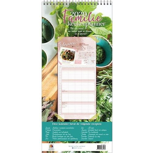 Comello Comello - Familieplanner - Familie keukenplanner - 2020 - 21x45cm