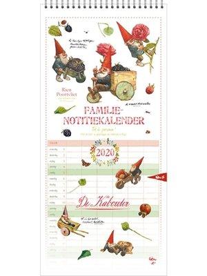 Comello Comello - Familieplanner - Rien Poortman - Kabouters - 2020 - 21x45cm
