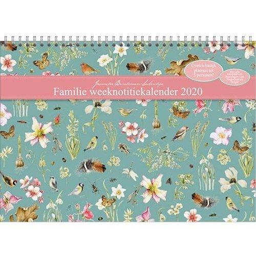 Comello Comello - Familienotitiekalender - Janneke Brinkman - Vogels - 2020 - 29,7x21cm