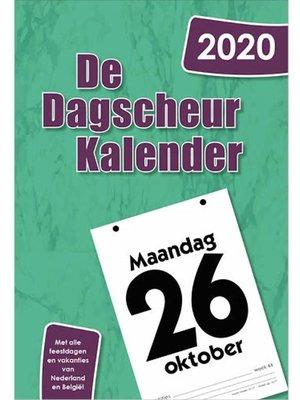 Comello Comello - Scheurkalender - De Dagscheurkalender - 2020 - 13x18cm
