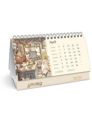 Comello Comello - Bureaukalender - Anton Pieck - 2020 - 21x14cm