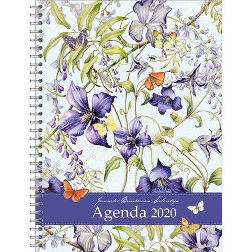 Comello Comello - Bureau-agenda - Janneke Brinkman - Blauwe Regen - 2020 - 17x23