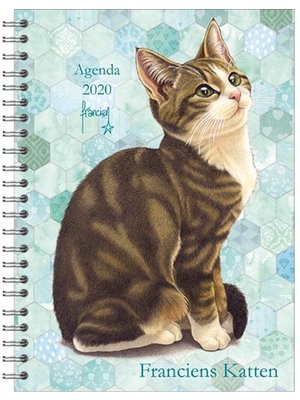 Comello Comello - Bureau-agenda - Franciens Katten - Lotje - Harde kaft - 2020 - 16x23