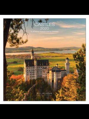 Comello Comello - Maandkalender - Castles - 2020 - 30x30