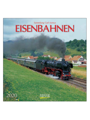 Comello Comello - Maandkalender - Trains - 2020 - 30x30