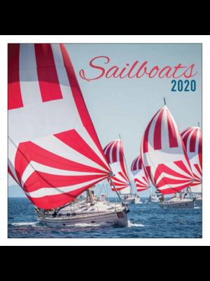 Comello Comello - Maandkalender - Sailboats - 2020 - 30x30