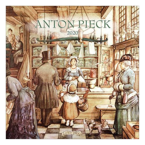 Comello Comello - Maandkalender - Anton Pieck - 2020 - 30x30