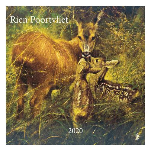 Comello Comello - Maandkalender - Rien Poortvliet - Natuur - 2020 - 30x30
