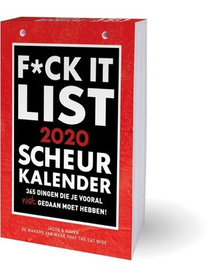 Interstat Scheurkalender - F*ck It - 2020