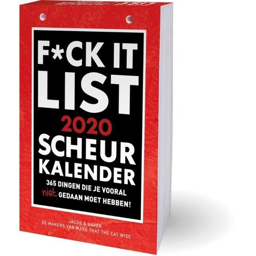 Interstat Interstat - Scheurkalender - F*ck It - 2020