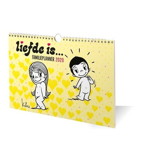 Interstat Kalender - Familieplanner - Liefde is - 2020