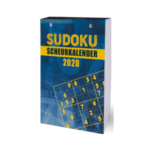 Interstat Interstat - Mini-scheurkalender - Sudoku - 2020
